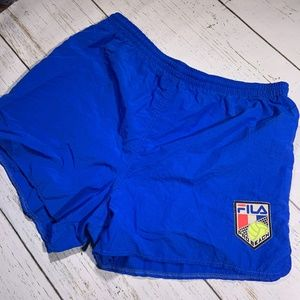 Vintage Fila Volleyball Made in USA Swim Trunks